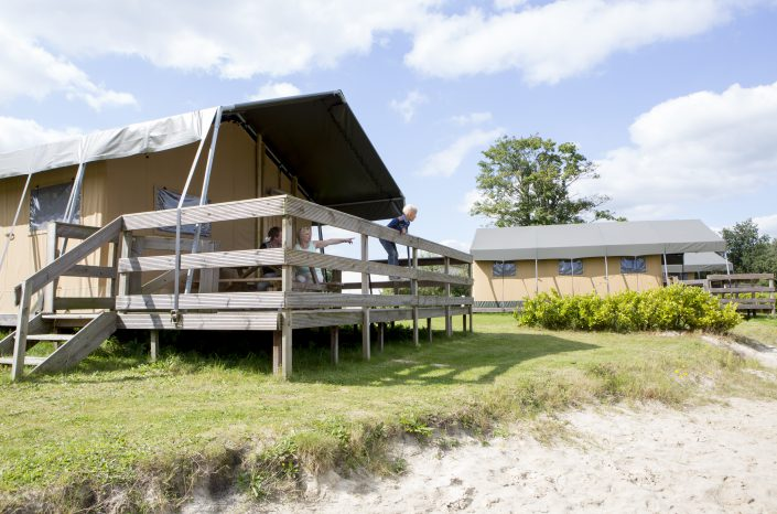 Glamping lodge TV 5 pers.