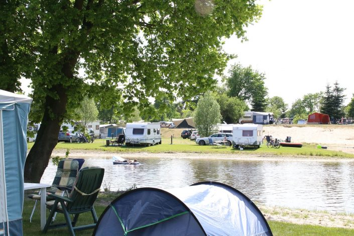Comfort kampeerplaats op ANWB 5 sterren camping