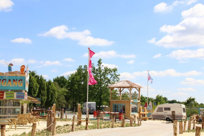Seizoenplaats op tienercamping in omgeving Hardenberg