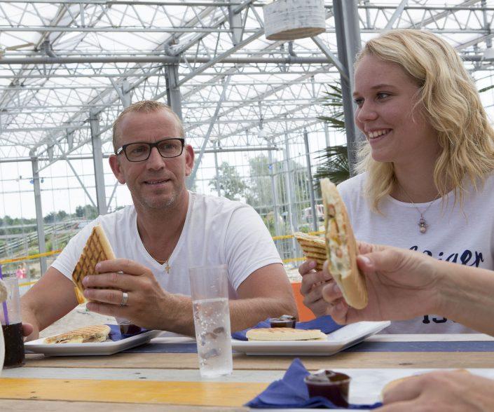 Snackbar op tienercamping in het Overijsselse Hardenberg